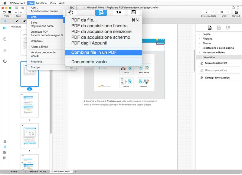 Come unire o dividere pdf su windows e mac - Unire diversi pdf ...