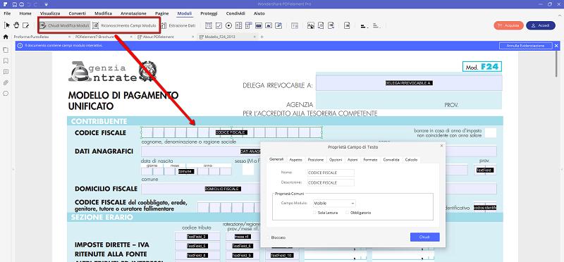 Gratis modificare programma pdf per file