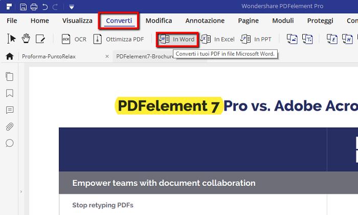 programma convertitore pdf in word